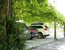 Parking ombragé